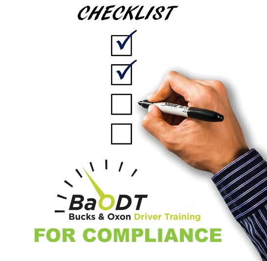 Company and Fleet Driver Compliance check